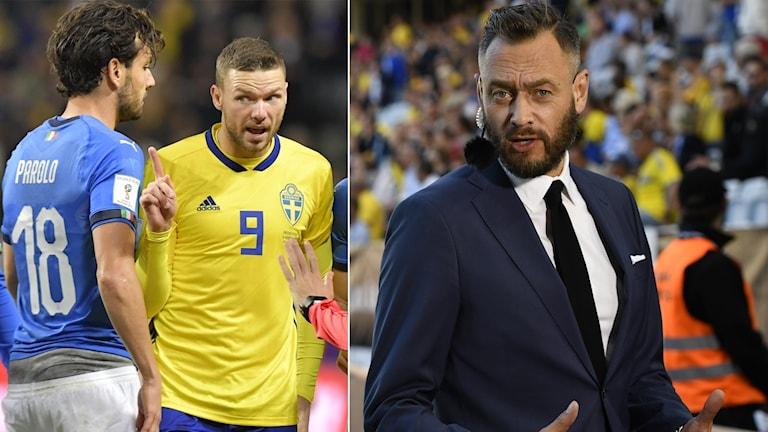 TV4:s fotbollsexpert Olof Lundh tror att det kommer att krävas något extra för att Marcus Bergs Sverige ska slå ut Italien.