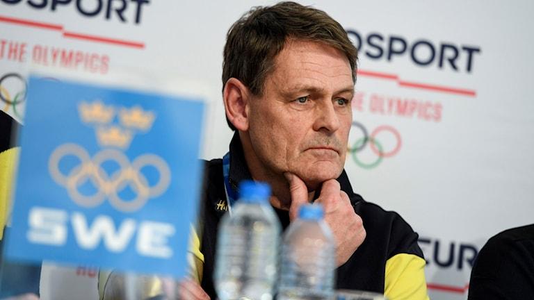 Sveriges Olympiska Kommitté, SOK:s, sportchef Peter Reinebo .