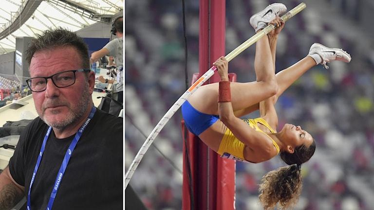 Miro Zalar tror Angelica Bengtsson får det tufft i torsdagens Diamond League-tävling.