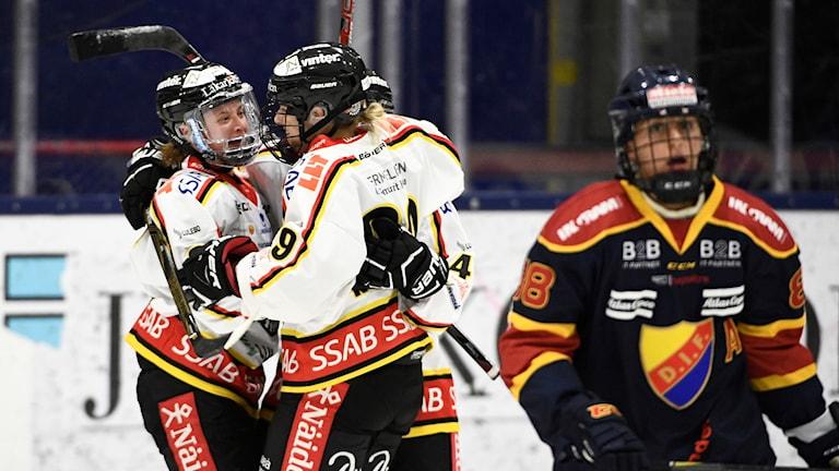 Luleå vann igen i SDHL.