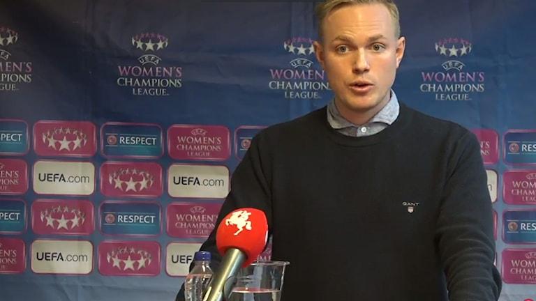 Jonas Eidevall tar över FC Rosengård.
