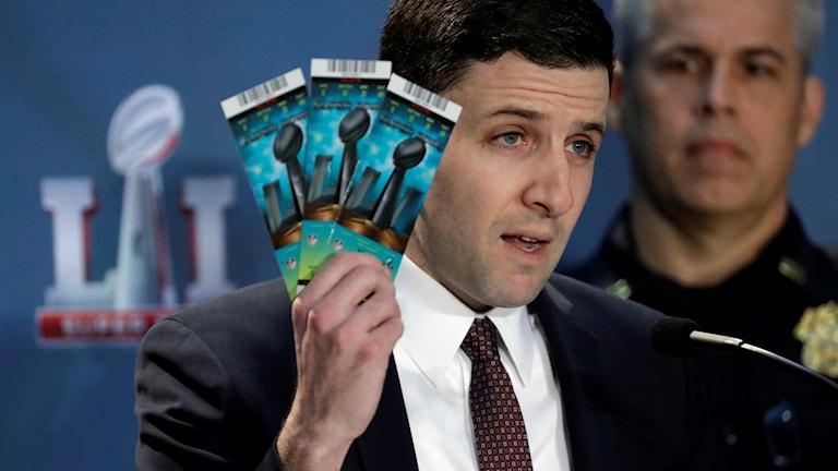 Biljetter till sportevenemang.