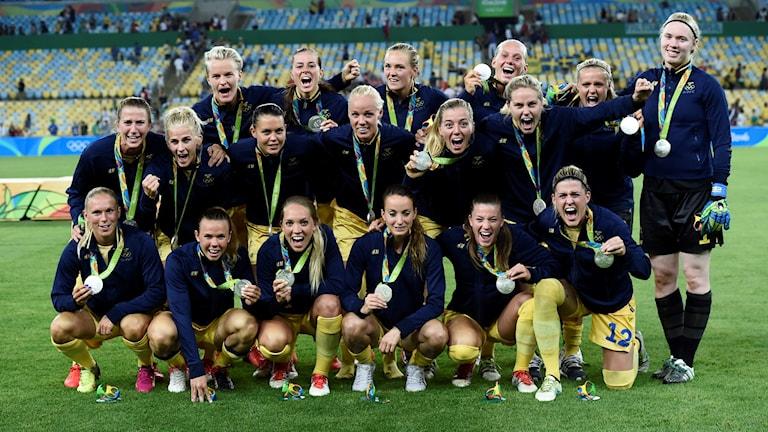 Sveriges damlandslag tog OS-silver