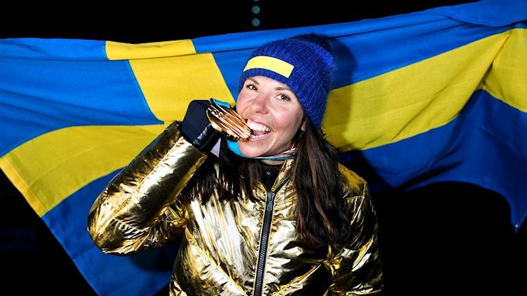 فوز السويدية شارلوت كالا بالذهبية