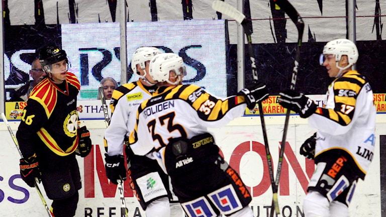 Brynäs förlorade med 2-8 mot Skellefteå.