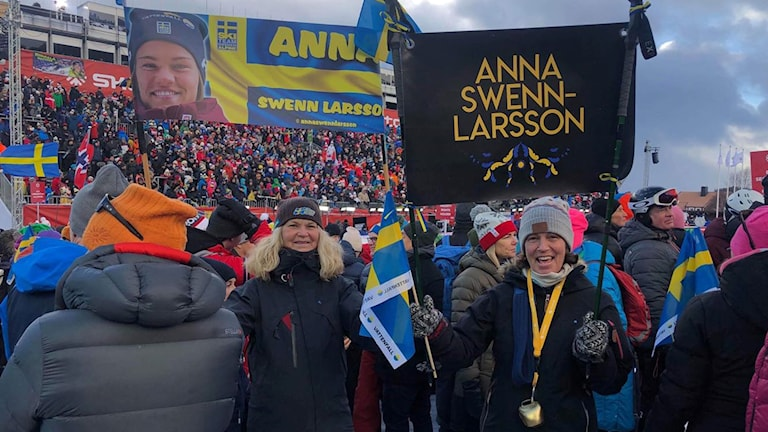 Anna Swenn-Larssons mamma i Åre.