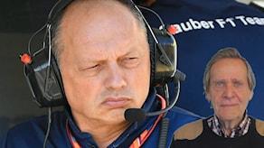 Fredrik af Petersens bloggar om Fredric Vasseurs stora planer för Sauber.