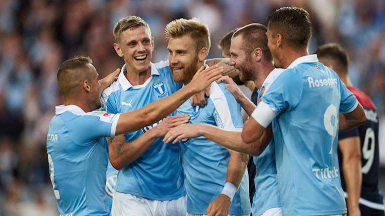 Malmöjubel i Europa League-kvalet.