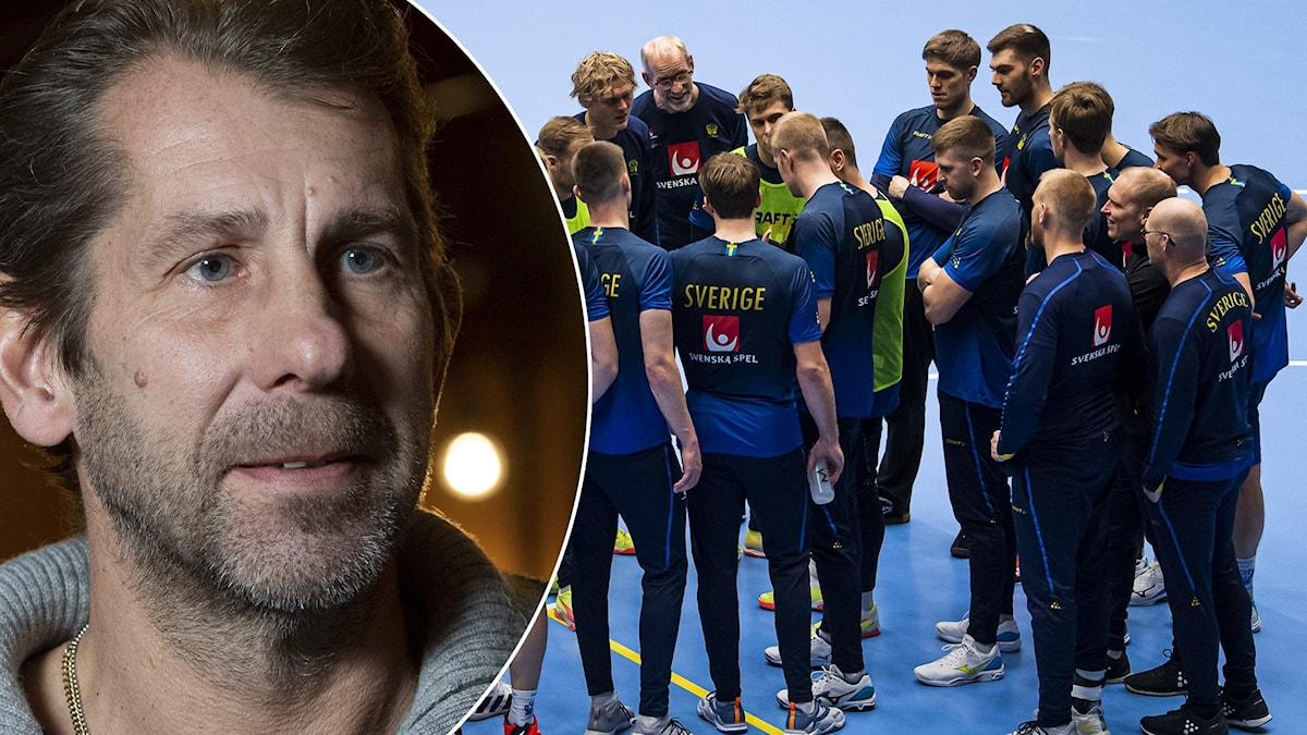 Magnus Wislander och svenska handbollslandslaget.