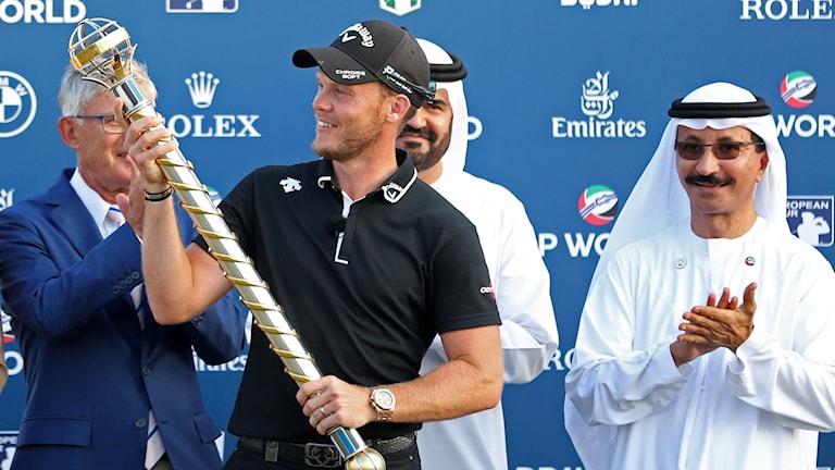 Golfspelaren Danny Willett. Foto: KARIM SAHIB /TT