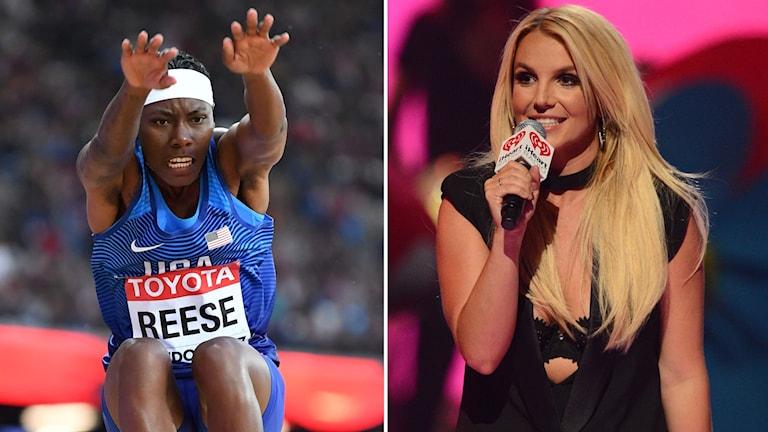 Britney Reese och Brittney Spears.