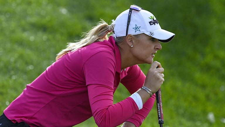 anna nordqvist under evian championship 2017.