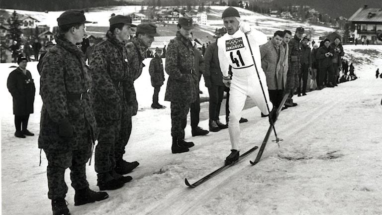 OS 1964 Sixten Jernberg. Foto: TT