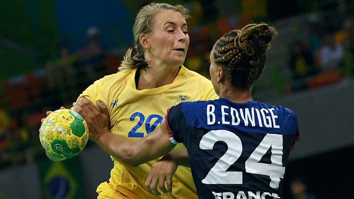 Isabelle Gulldéns Sverige förlorade mot Frankrike.