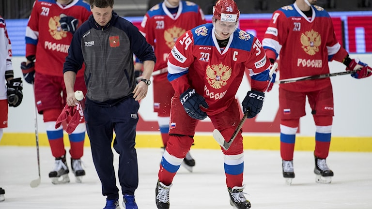 Rysslands landslag i hockey riskerar att missa OS.