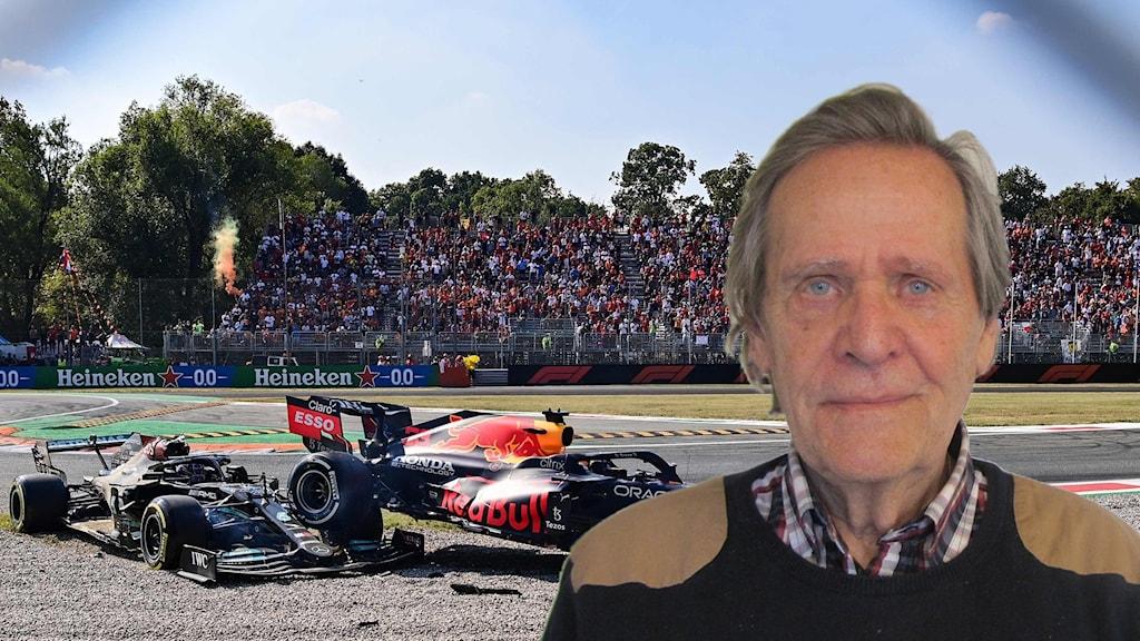Formel 1-kraschen på Monza och expert Fredrik af Petersens