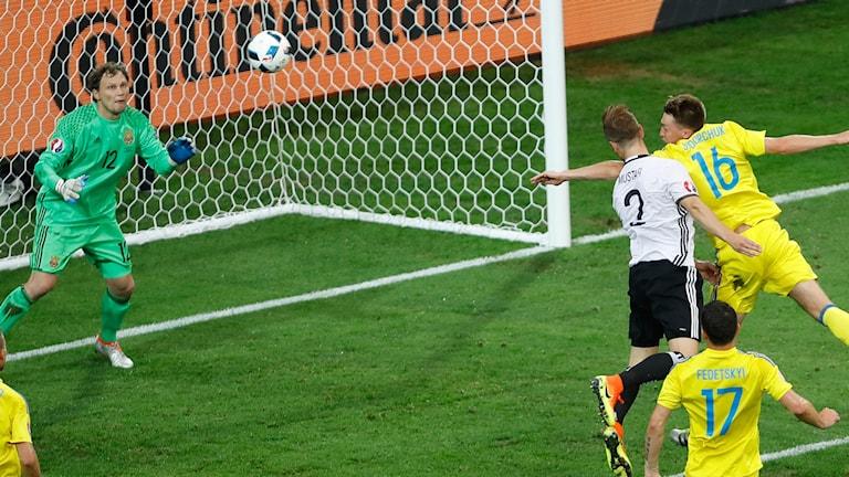 Det tyska målet