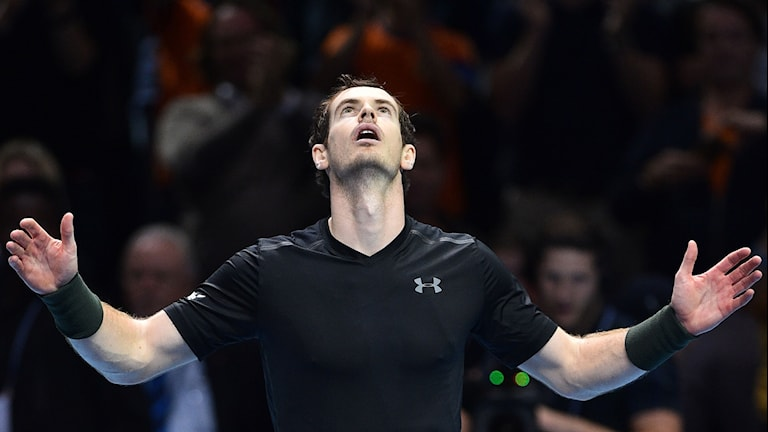 Andy Murray är klar för final i ATP-slutspelet.
