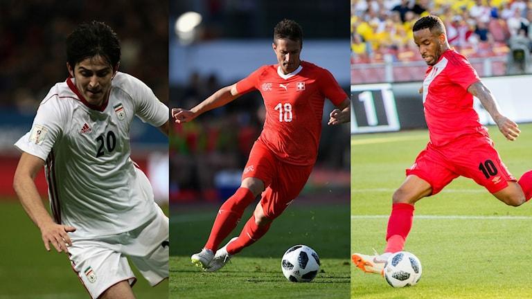 Iran, Schweiz och Peru är tre lag som, enligt Henriksson, kan skrälla i VM.