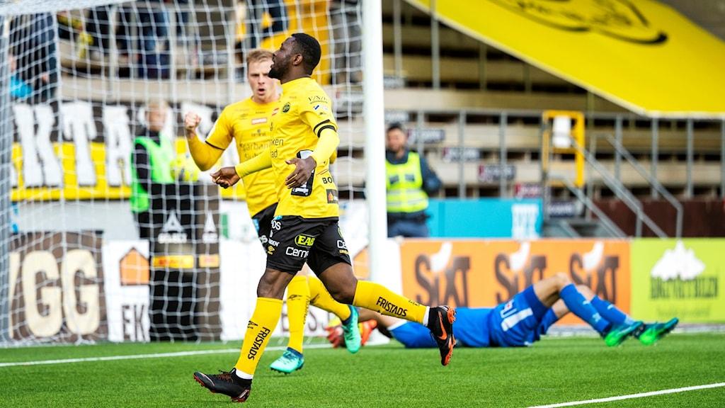 Obasi hjälte mot Örebro.