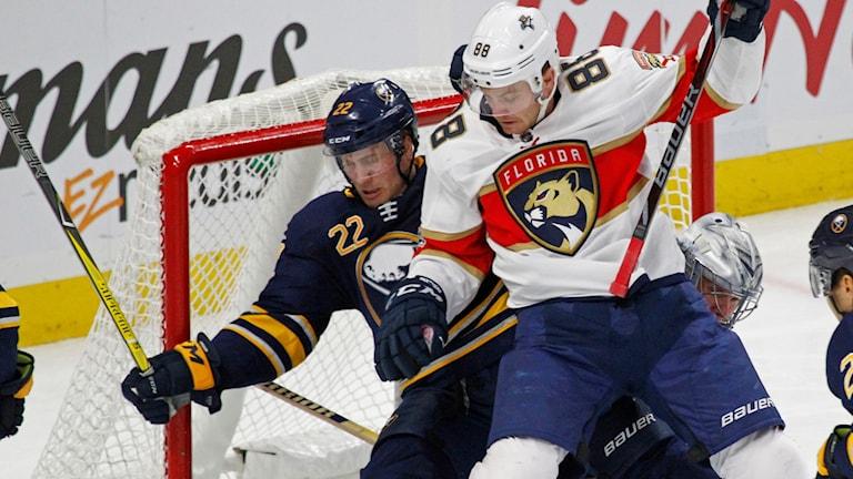 Johan Larssons (22) Buffalo Sabres var sämst i NHL den här säsongen.