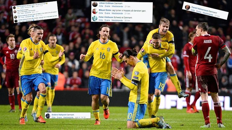 Det är många som vill se ett nytt playoff mot Danmark.