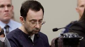 Larry Nassar fick ett långt fängelsestraff.