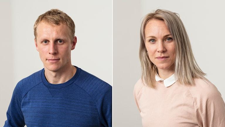 Richard Henriksson och Johanna Frisk.