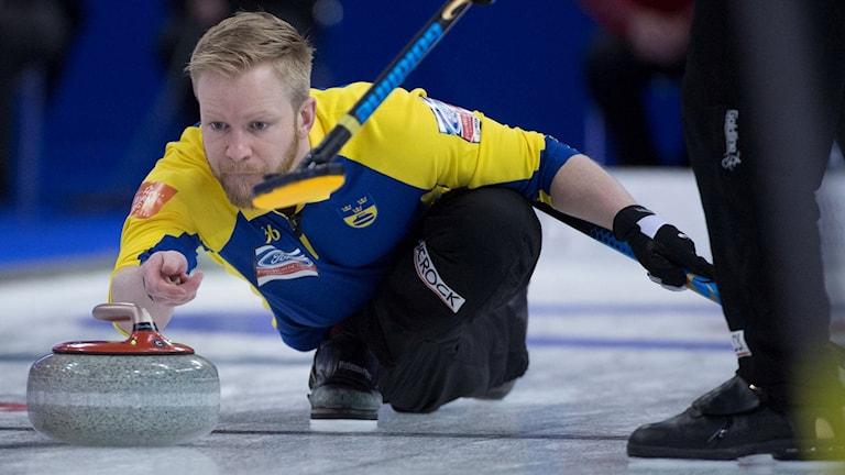 Sveriges Niklas Edin.