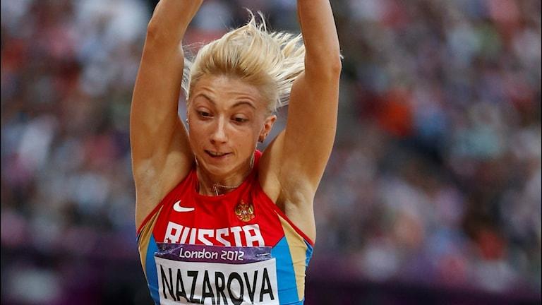 Anna Nazarova var OS-femma i London.