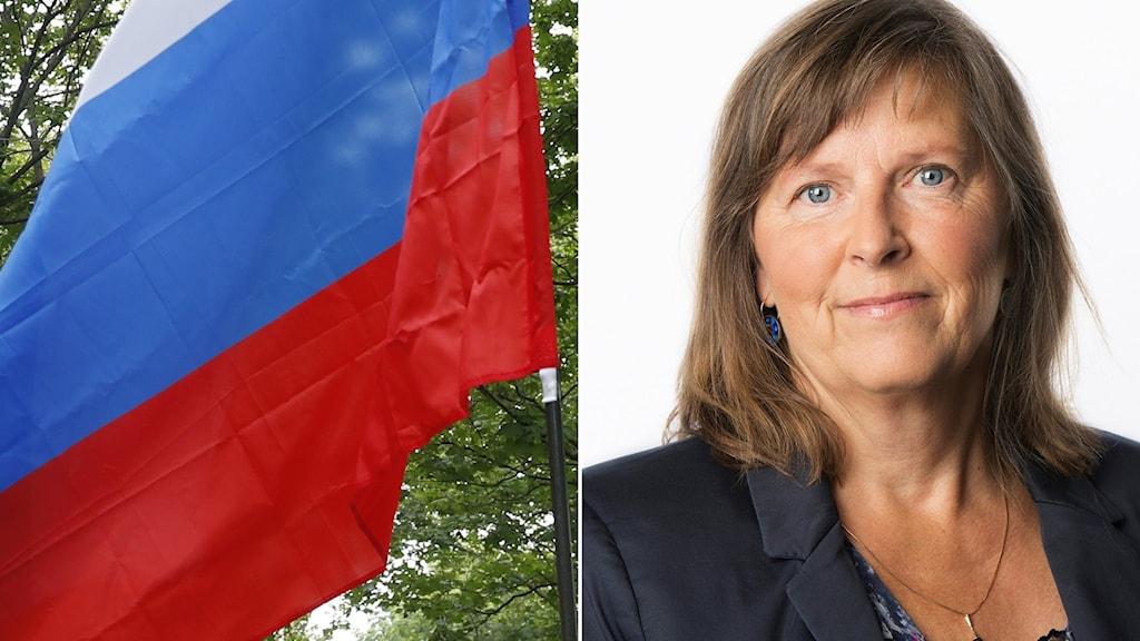 Rysslandsexperten Maria Persson Löfgren.