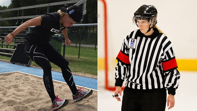 Katarina Timglas tränar hårt för att komma i bra form till vinter-OS i Pyeongchang.