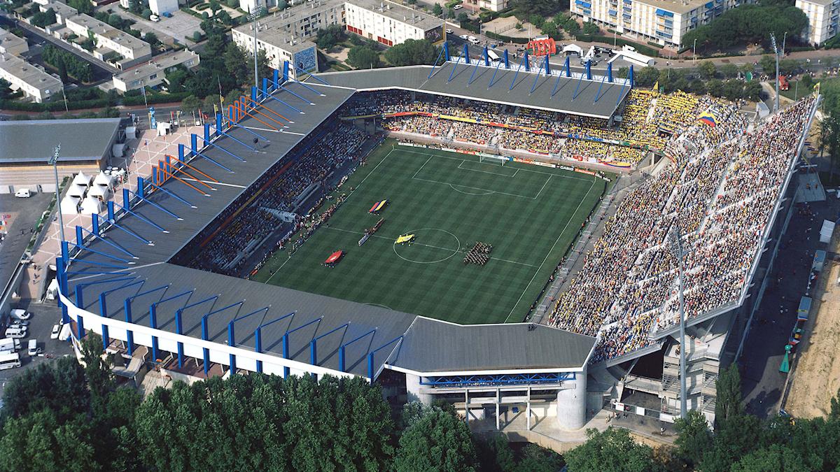 Stadion i Montpellier.