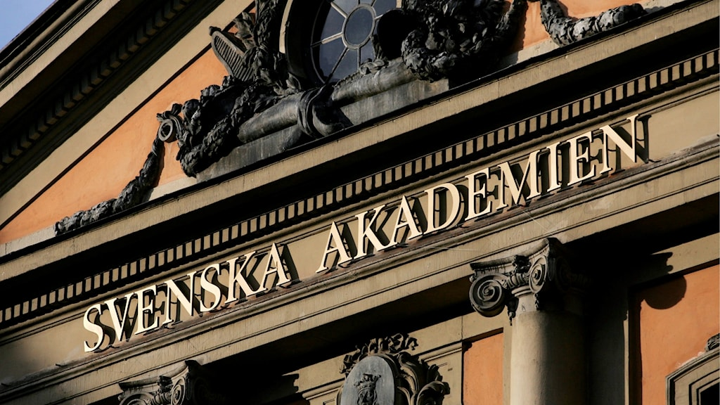 Svenska akademiens husfasad. Henrik Montgomery/TT