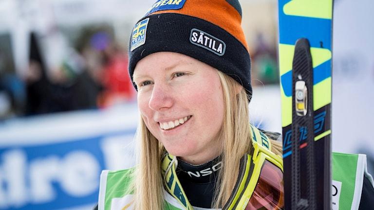 Helgen som var blev skicrossåkaren Sandra Näslund OS-klar.