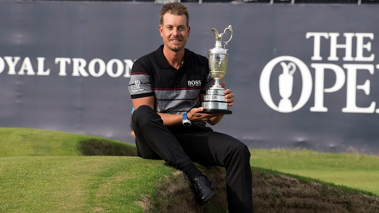Henrik Stenson won the Open Championship at Royal Troon this summer.