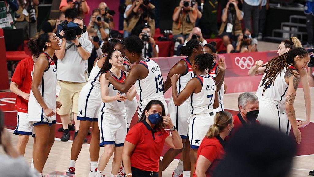 USA:s basketdamer vann historiskt guld