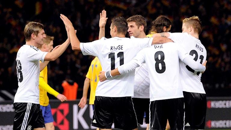 Tyskland får arrangera fotbolls-EM 2024. Arkivbild.