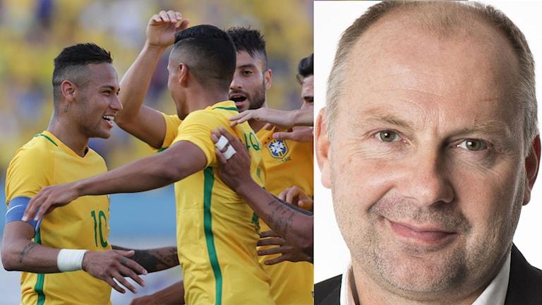 Håkan Mild ser Brasilien, med Neymar i spetsen, som OS-favorit.