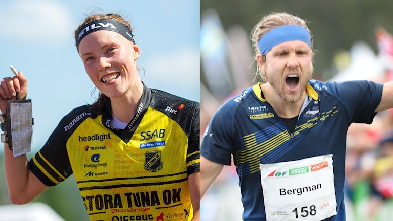 Tove Alexandersson och Gustav Bergman.