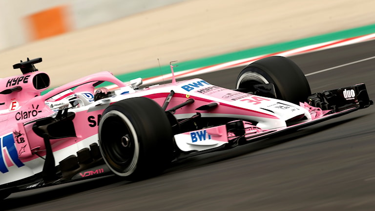 Nikita Mazepins stall Force India är räddat.