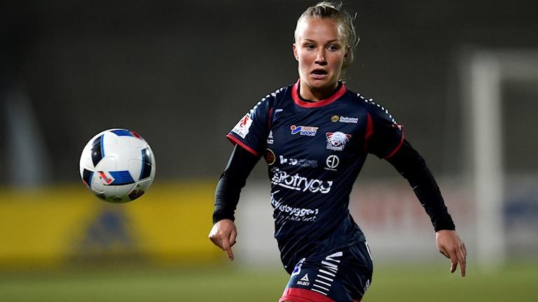 Tove Almqvist avgjorde för Linköping.