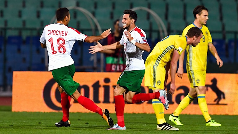 Bulgarien vann på hemmaplan.