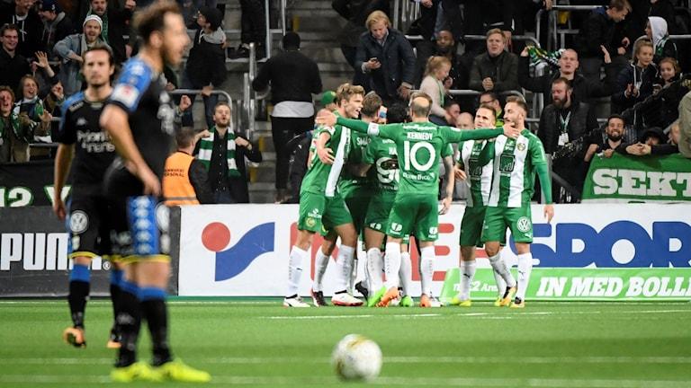Hammarby vann hemma mot IFK Göteborg.