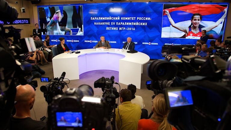 Det blir inga ryska idrottare i Paralympics.