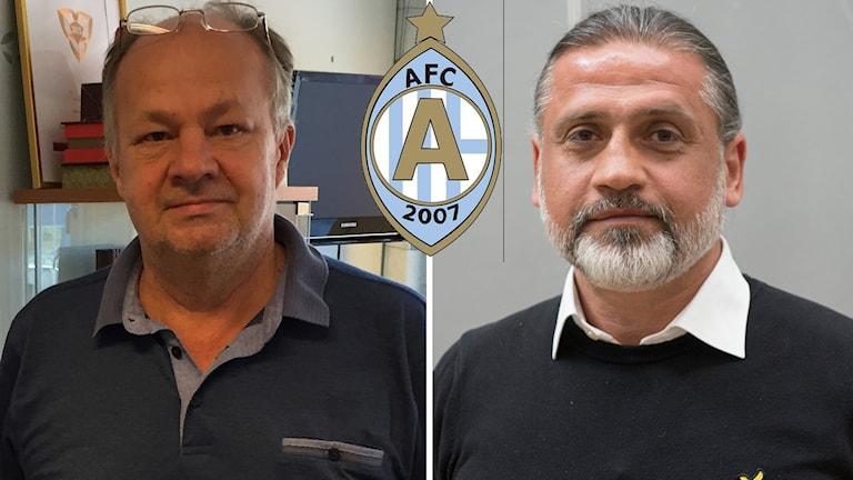 Alex Ryssholm och Özcan Melkemichel oense.
