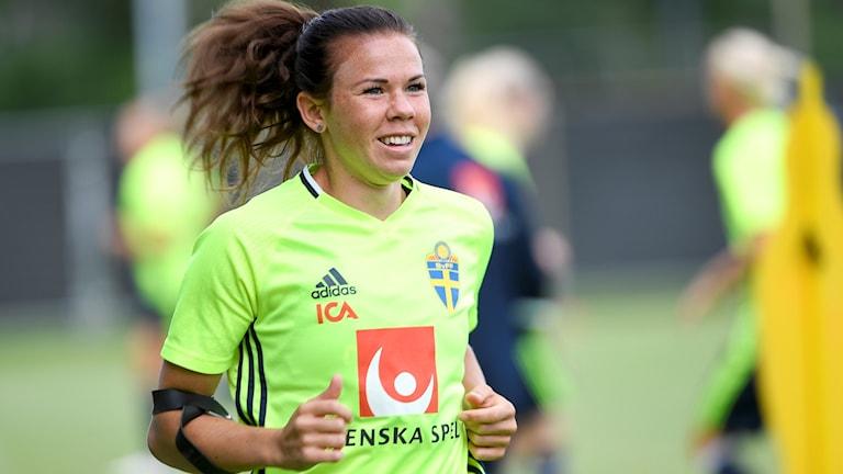 Jessica Samuelsson lämnar Sverige för proffsspel.