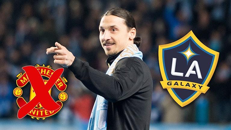 Zlatan Ibrahimovic uppges vara klar för Los Angeles Galaxy. 7f0bb86b00341