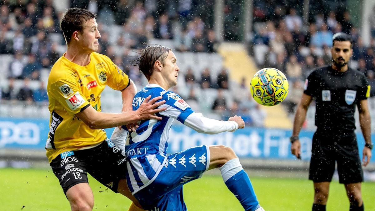 Delad pott mellan IFK Göteborg och Elfsborg.