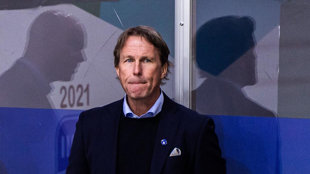Förbundskapten Johan Garpenlöv.